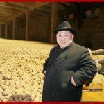 Ким Чен Ын руководил на месте Самчжиёнской фабрикой по производству картофельной муки