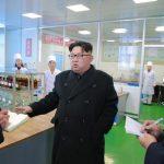 Ким Чен Ын руководил на месте работой Пхеньянского фармацевтического завода
