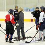 Хоккеистки сборной КНДР и Южной Кореи столкнулись с языковым барьером на тренировке