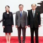 Делегация КНДР на высоком уровне встретилась в Чхонвадэ с президентом Южной Кореи