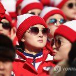 МОК одобряет такие группы поддержки, как у сборной Северной Кореи