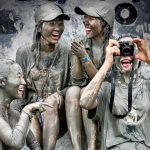 Международный фестиваль морской грязи в Порёне