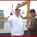 Товарищ Ким Чен Ын руководил на месте работой Чхончжинской судоверфи