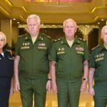 Переговоры между членами Корейского комитета ветеранов и делегацией Российского Союза ветеранов