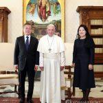 В Ватикане состоялась встреча президента Республики Корея и Папы Римского