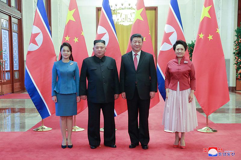 Товарищ Ким Чен Ын нанес визит в КНР