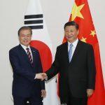 Лидеры Южной Кореи и Китая обсудили вопросы безопасности на Корейском полуострове