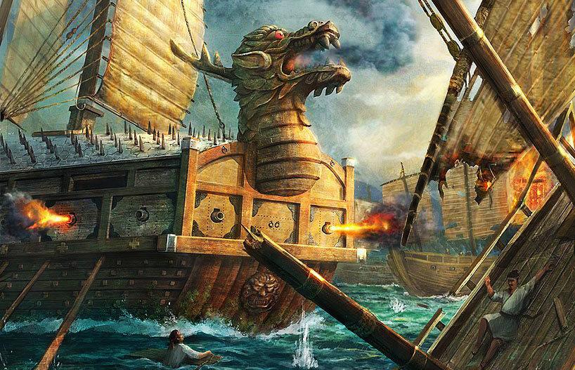 Боевая корабль Черепаха