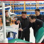 Ким Чен Ын руководил на месте делами Мёхянсанского медико-инструментального завода