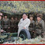 Ким Чен Ын инспектировал гарнизон на острове Чанрин, расположенный на западном фронте