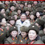 Ким Чен Ын инспектировал женскую роту при войсковой части 5492 КНА