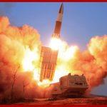 Ким Чен Ын посмотрел показательную стрельбу тактического управляемого оружия