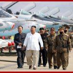 Ким Чен Ын инспектировал истребительно-штурмовой полк