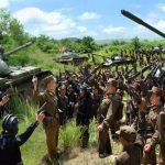 КНДР снова введет военных в район приграничного города Кэсон и горы Кымгансан