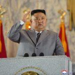 Речь товарища Ким Чен Ына на военном параде, посвященном 75-летию Трудовой партии Кореи
