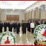 Ким Чен Ын посетил Кымсусанский Дворец Солнца по случаю дня величайшего национального траура