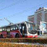 Троллейбусы нового типа пользуются хорошей оценкой среди жителей Пхеньяна