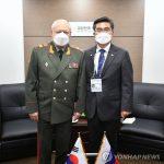 Главком Сухопутных войск России прибыл в Южную Корею